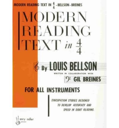 Modern Reading Text in 4/4: For All Instruments (Paperback) - Common