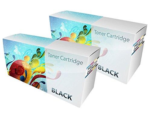 Prestige Cartridge Toner Compatibile con Stampanti Laser Xerox 6000/6010/6015, 2 Pezzi, Nero