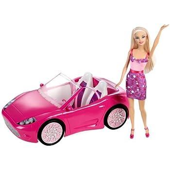 mattel y7056 la voiture cabriolet de barbie. Black Bedroom Furniture Sets. Home Design Ideas