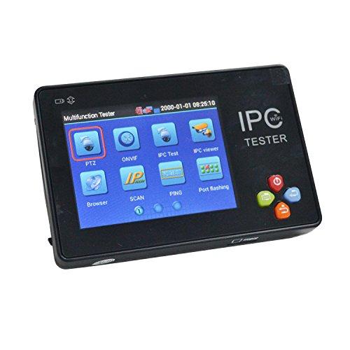 OnvianTech Portable 3.5 Inch TFT-LCD Touch Screen Wrist Multifunction IP Camera CCTV Tester Support ONVIF PTZ WIFI IPC-1600
