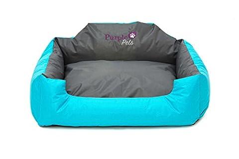 Purple-Pets Lit chien moderne, Lit chat, Panier chien, Matelas pour