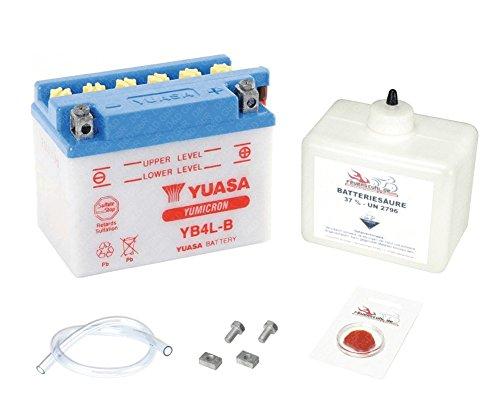 YUASA Batterie Vespa LX 50 (2-Takt), 2005-2014 (Typ C38101), inkl. Pfand €7,50 - Lx Batterie