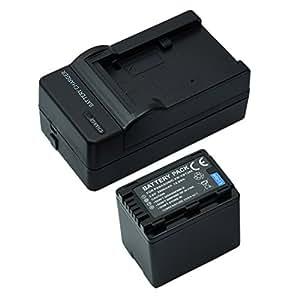 Mondpalast @ 1X 3900mAh 3.6V Remplacement Batterie VW-VB380 VBT380 + Chargeur pour Panasonic HC-V110, HC-V130, HC-V160, HC-V180, HC-V201, HC-V210, HC-V250, HC-V260, HC-V270, HC-V380, HC-V510, HC-V520, HC-V550, HC-V700, HC-V710, HC-V720, HC-V727, HC-V730, HC-V750, HC-V770, HC-VX870, HC-V110, HC-V130, HC-V160, HC-V180, HC-V201, HC-V210, HC-V250, HC-V260, HC-V270, HC-V520, HC-V550, HC-V710, HC-V720, HC-V727, HC-V730, HC-V750, HC-V757, HC-V770, HC-VX870, HC-W570 HC-W580 HC-W858 HC-WX970 Caméscopes