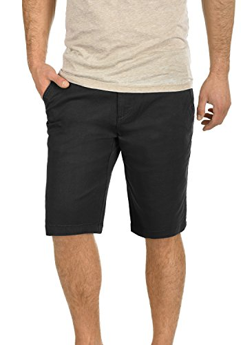 Chino Shorts Bermuda Kurze Hose aus Stretch-Material Regular Fit, Größe:XL, Farbe:Black (9000) ()