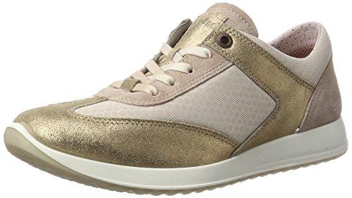 Legero Amato Damen Sneaker, Pink (Powder 56), 37 EU Mia Suede Shoes