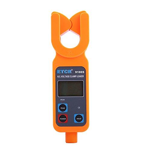 Multímetro Amperimetrica Digital, Tipo portátil de alta/baja tensión pinza de corriente de corriente ETCR9100S Clamp Meter