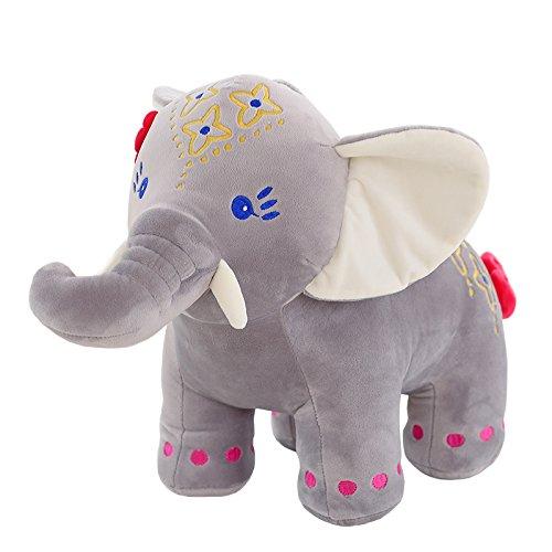 Juguete de peluche lindo creativo, muñeca de peluche juguetes de peluche Muñecas de peluche Muñeca de peluche Muñeca Muñeca Volar como niños Regalo de cumpleaños Gris Pequeño elefante volador 45cm