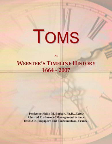 toms-websters-timeline-history-1664-2007