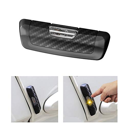Auto Anti Static Aufkleber, Automobile Static Electricity Eliminator Remover, Carbon Style Autos Seitentür Kantenschutz Schutz Aufkleber -