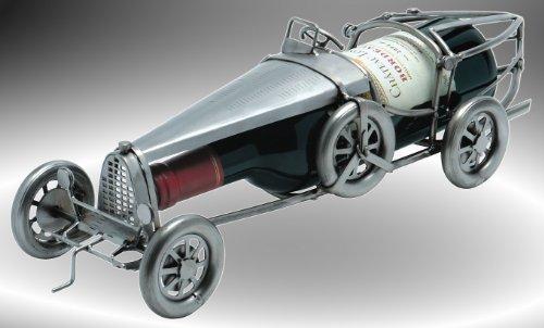 Boystoys HK Design Weinflaschenhalter Auto 'Oldtimer' - Metall Art Weinflaschen-Deko & Autogeschenke...