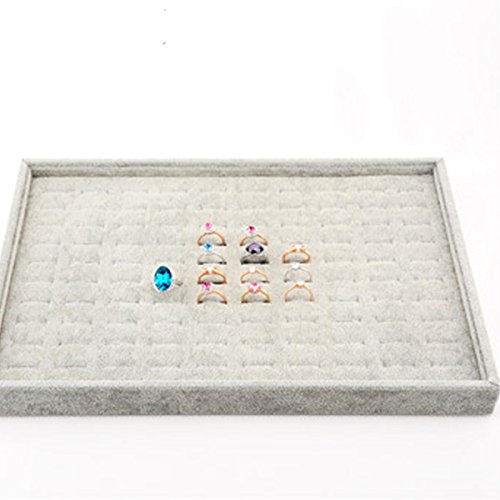 HQdeal-Organizador-de-almacenamiento-Exhibicin-de-la-joyera-Joyero-bandeja-con-100-ranuras-Para-los-anillos-pendientes