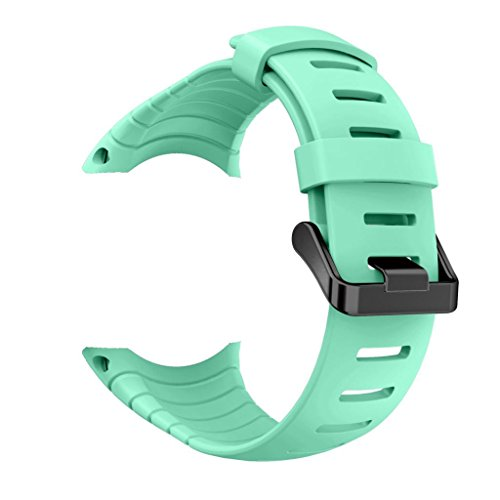 Preisvergleich Produktbild Sansee Neue Art- und Weisesport-Suunto-Kern-Silikon-Armband-Bügel-Band-Silikonbügel (Minzgrün)