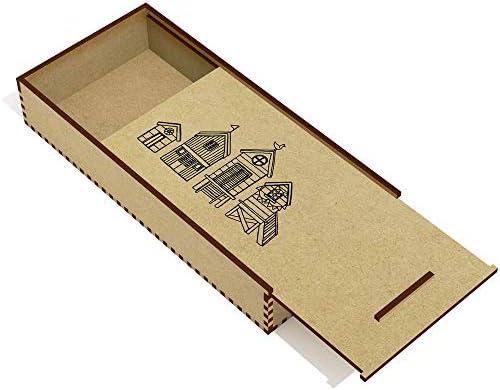 Azeeda 'Cabanes de Plage' étui à Crayons Crayons Crayons / Porte-Crayons (PC00017907) 9828d0