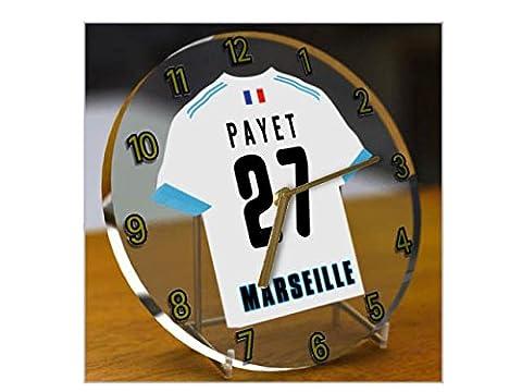 France Ligue 1–French équipe T-shirt Desktop Montres–Nom, n'importe quelle, chaque Football, personnalisés. - Olympique De Marseille
