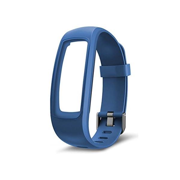 siwetg Pulsera De Correa De Repuesto para Monitor Fitness Tracker para Reloj Inteligente ID107 Plus 2
