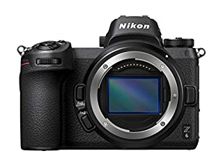 "Nikon Z6 + FTZ Mount Adapter Cámara Mirrorless Full Frame, CMOS FX de 24.5 MP, 273 Puntos AF, Mira OLED de 3.686 K Puntos Quad VGA, Video 4 K, LCD 3.2 "", Neopreno: 4 años de garantía (B07KTQT6X1) 