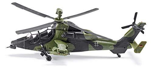 SIKU 4912, Kampfhubschrauber, Metall/Kunststoff, Tarnfarben, Bewegliche Rotoren, Aufkleber-Set