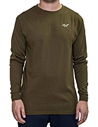 Reell Universe Logo-Longsleeve Manches longues olive