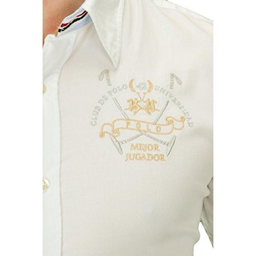La Martina ® Hemd Buenos Aires Weiß - weiß