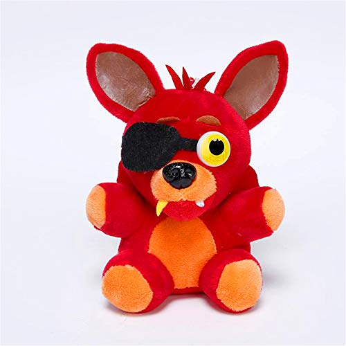 Unbekannt Juguete de Peluche de Five Nights at Freddy 's Fazbear Plush, 15 cm - 18 cm, Regalo para niños