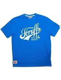 Scruffs Medium Vintage Graphic T-Shirt - Blue