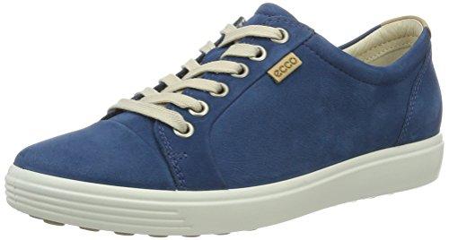 Ecco Damen Soft 7 Ladies Sneaker, Blau (2269POSEIDON), 38 EU