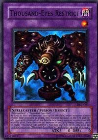 Yu-Gi-Oh! - Thousand-Eyes Restrict (DL1-001) - Duelist League Prize Card - Limited Edition - Super Rare by Yu-Gi-Oh!