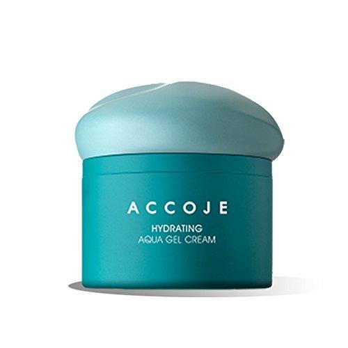 accoje Hydrating Aqua Gel-Creme, 50ml/1,7fl. oz, feuchtigkeitsspendende Gel-Creme enthält Jeju schwarz Rettich Extrakt zu stärken und Replenish Feuchtigkeit auf der Haut -