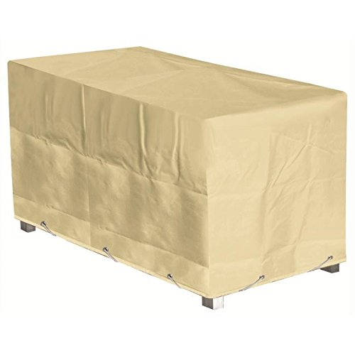 GREEN CLUB Housse de protection pour table - 226x112x65 cm - Beige