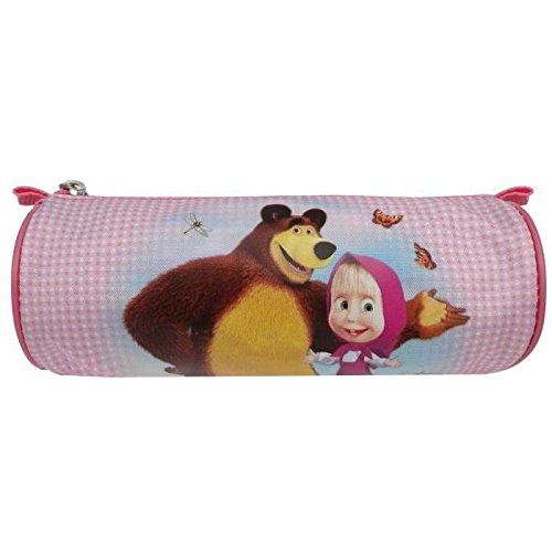 Preisvergleich Produktbild Masha und der Bär Schlamperrolle Pencil Case Stiftetasche (nl7289)
