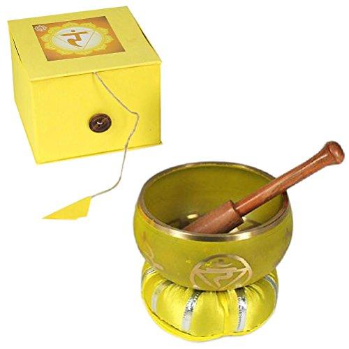 Klangschale Zen–Solarplexus Chakra–Gelb