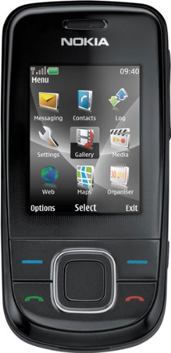 Nokia 3600 slide Handy (EDGE, QVGA-Display, Kamera mit 3,2 MP, UKW-Stereo-Handy, Bluetooth) charcoal
