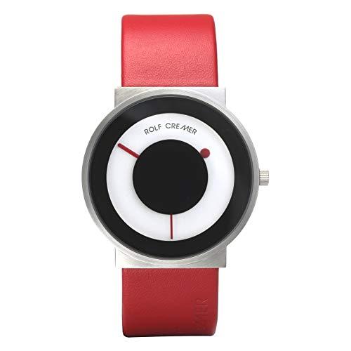 Uhr - Signo - rot/silberfarben