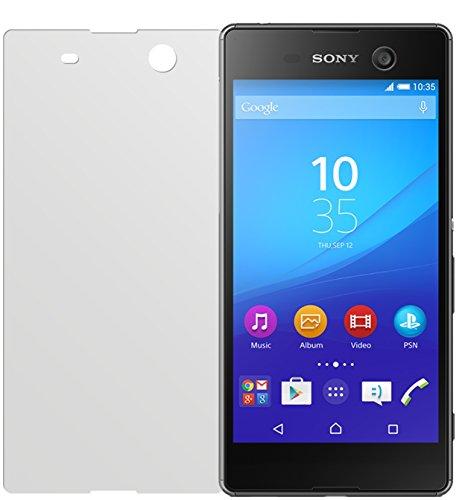dipos I 2X Schutzfolie matt passend für Sony Xperia M5 Folie Bildschirmschutzfolie
