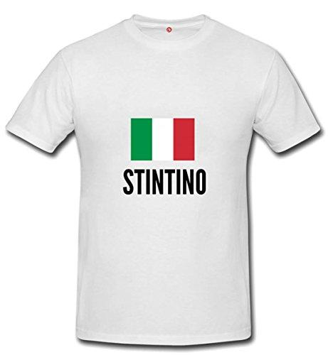 T-shirt Stintino city White