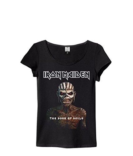 Amplified - Iron Maiden Damen Rock Band T-Shirt - Book of Souls (S-XL) (S) (Band-t-shirts Frauen Für)