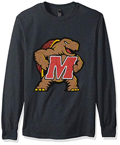 NCAA Erwachsene Ouray L/S Tee, Ouray L/s T, Graphit, Medium -