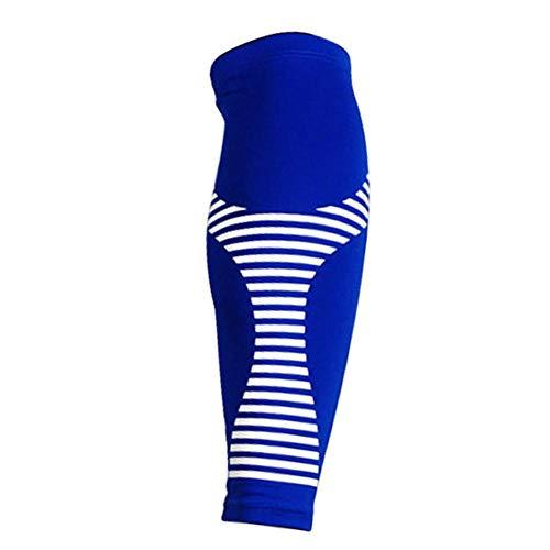 ATpart Kalb Bein Kompressionshülsen, Lange Kompressionsbein Ärmel Komfortable und rutschfeste Bein Kompressionshülsen für Sport Basketball Laufen Radfahren (1 Paar)