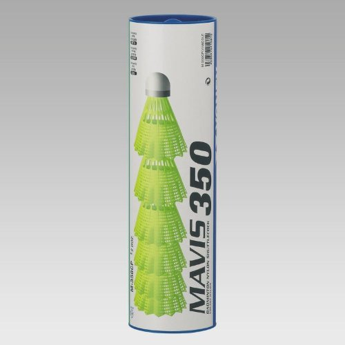 YONEX Badminton Federball Mavis 350 (Farbe / Größe: gelb / fast-rot)