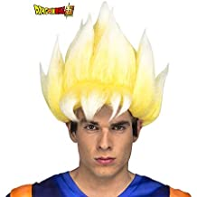 My Other Me Me Me- Saiyan Goku Dragon Ball Peluca, Multicolor (230124)