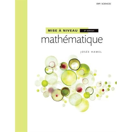 Mise à niveau mathématique 2e édition : Manuel + MonLab | xL + Édition en ligne + Multimédia (6 mois)