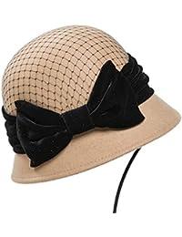 95e7303d19fa6 GHC Gorras y Sombreros Mujer de otoño Fishman Sombrero Lana Mantener Cálido  Sombrero ( Color