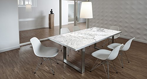 Esstische marmoroptik im vergleich beste for Tischplatte marmoroptik