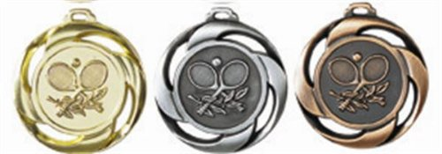 Medaille Tennis gold
