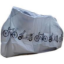 SAVFY Universal Outdoor Waterproof Cycle Bicycle Bike Cover Fully Rain Resistant (Bicycle Cover - Grey)