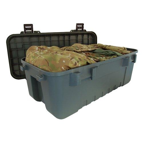 Plano Robuste Aufbewahrungsbox Militär-Design, Olivgrün