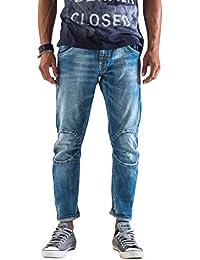 Meltin'Pot - Jeans LOUIS D1705-UK422 para hombre, estilo ergonómico, ajuste suelto, talle baja