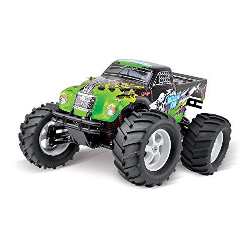 DRAKE18 Monster Trucks, RC ferngesteuertes Auto 1/8 elektrischer bürstenloser Motor, Offroad-unabhängiger Stoßdämpfer mit hoher Geschwindigkeit,A - Rc Jam-trucks Monster