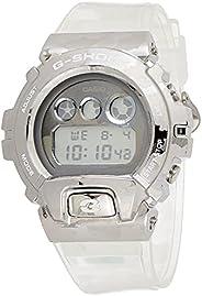 Casio G-Shock GM-6900SCM-1DR Standard Men's Digital Wrist Watch, Silver/W