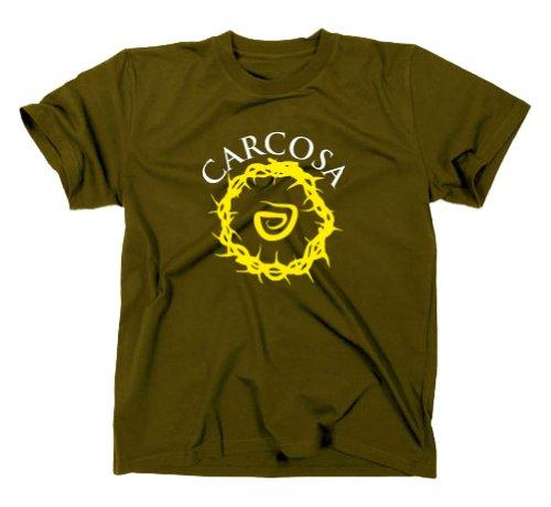 Styletex23 - Maglietta True Detective Carcosa, colore: giallo Verde - verde oliva